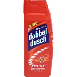 DUBBELDUSCH ACTIVE RÖD 250ML