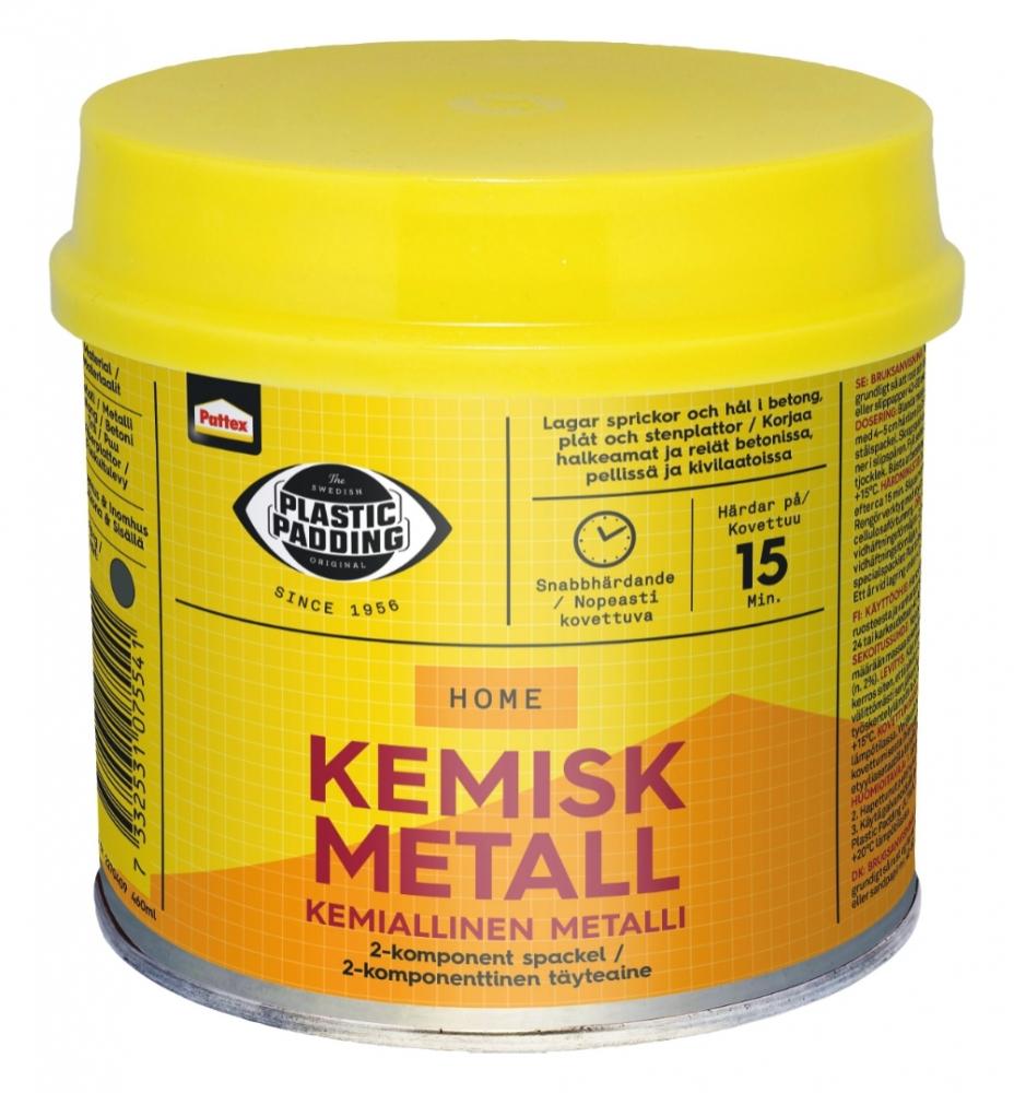 Berömda KEMISK METALL 560ML PP-4 HÅRD   Spackel - Bygg- Industrikemi Ti BV-99